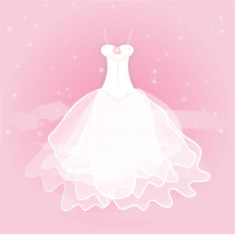wedding vector file pretty wedding gown vector free vector in