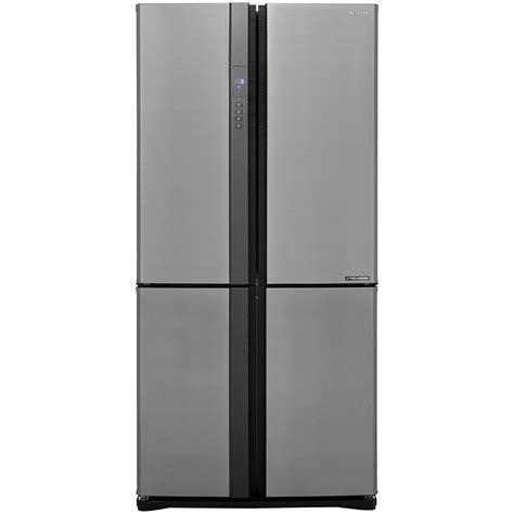 Cek Freezer Sharp sj ex820fsl si sharp american fridge freezer ao