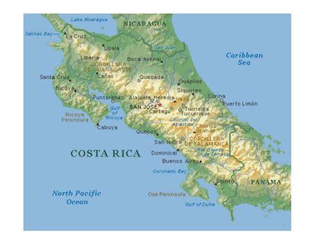 imagenes satelitales costa rica mapa de costa rica descarga los mapas de costa rica