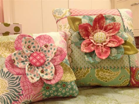 Pillow Patterns Embroidered Flower Pillow Pattern By Back In Bloom Craftsy