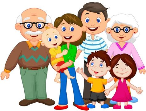 clipart famiglia happy joint family clipart clipartsgram