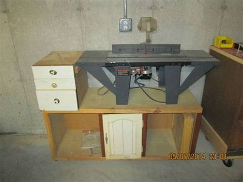 experience  vermont american router tables