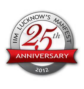 business anniversary logos iim lucknow launches 25th edition of manfest 171 the iim