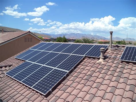 i want solar energy for my house should i put solar power on my roof here in las vegas