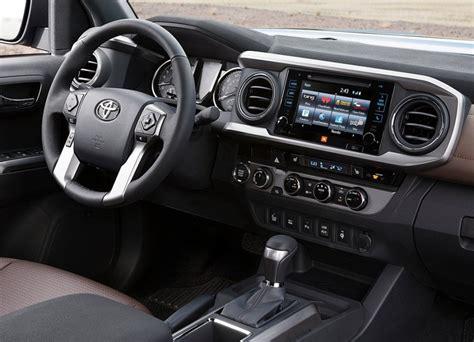 2015 Toyota Interior Toyota Tacoma 2015 Desvelado En El Sal 243 N De Detroit
