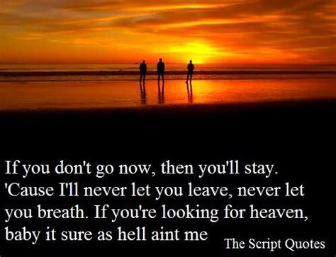 the script lyric quotes the script lyric quotes quotesgram