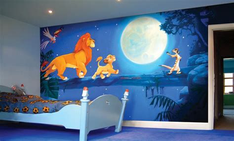 adorable cartoon inspired bedroom design ideas  kids