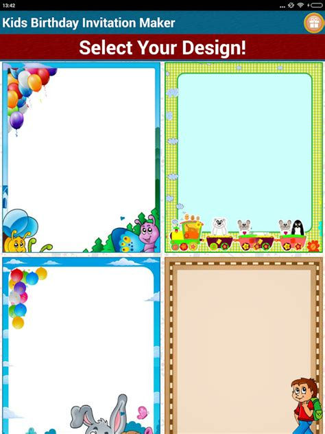 free invitation maker program birthday invitation maker android apps on play