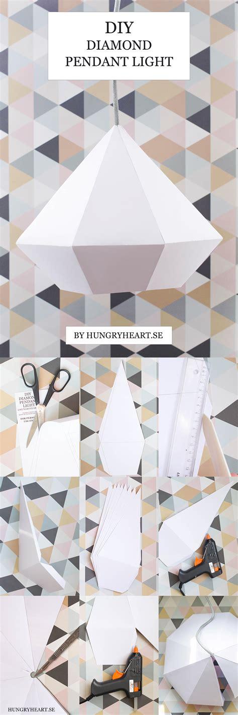 diy light pendant diy pendant light with free template hungry