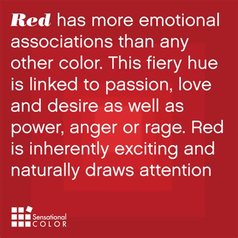 red color meaning meaning of the color red sensational color