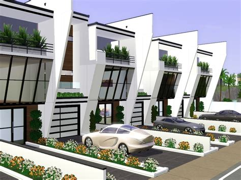 modern row houses gabi89 s modern row house ii