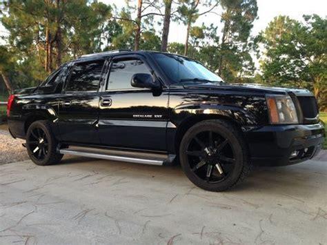buy used 2002 cadillac escalade ext crew cab pickup 4 door 6 0l custom wheels new trans in
