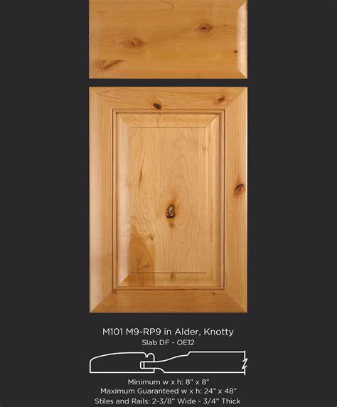 Knotty Alder Cabinet Doors M101 M9 Rp9 Alder Knotty Taylorcraft Cabinet Door Company