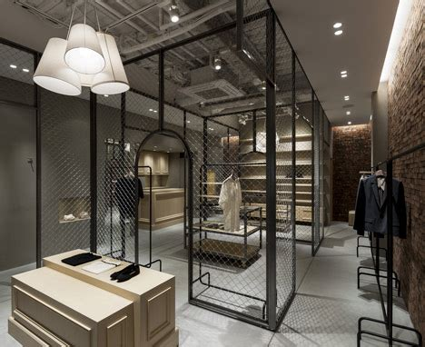 Martagon shop with a fence inside by Reiichi Ikeda   Dezeen