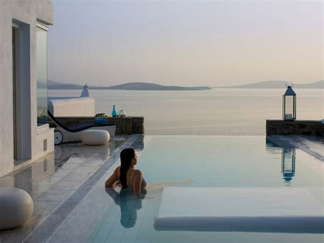 mykonos grand hotel cycladic luxury beach resort heaven on mykonos island