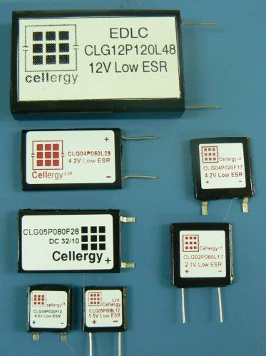 supercapacitor farnell cellergy capacitors new at farnell element14 capacitors
