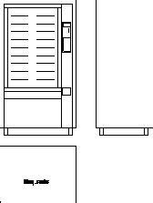 snack vending machine  dwg block  autocad designs cad