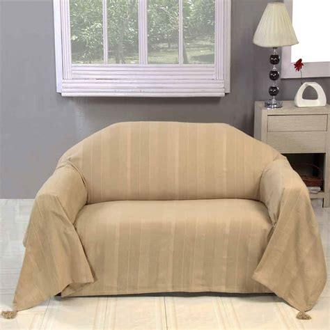 beige throws for sofas homescapes beige large cotton plain sofa bed throw blanket