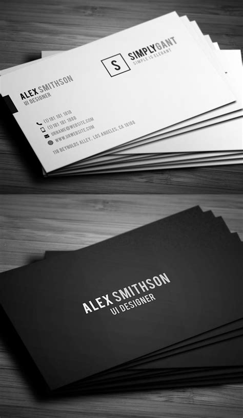 business card website templates best business card website thelayerfund