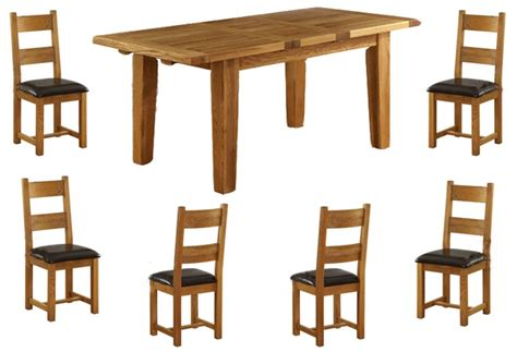 Dining Table Vancouver Vancouver Oak 1800 2300mm Ext Dining Table 6 Or 8 Oak Chairs Timber Or Leather Seats