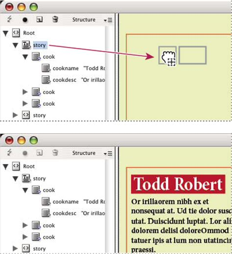 xml pattern w importowanie plik 243 w xml w programie indesign