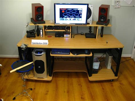 small home studio desk rta studio desk for home based studio