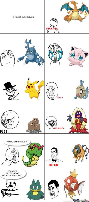 Pokeman Meme - pics for gt if i had one meme pokemon