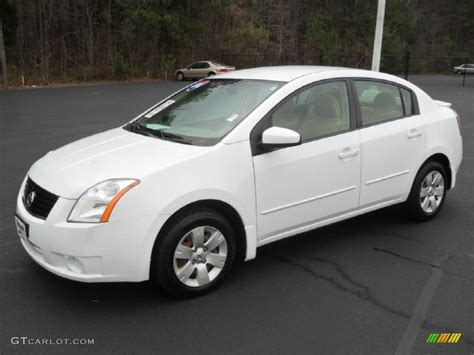 white nissan sentra 2008 fresh powder white 2008 nissan sentra 2 0 exterior photo