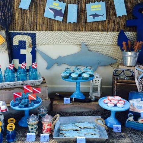 baby shark themed party 21 fun june birthday party ideas for boys spaceships and