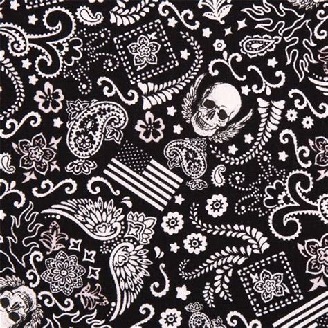 Skull Upholstery Fabric by Black Mini Skull Fabric By Timeless Treasures Usa Skulls
