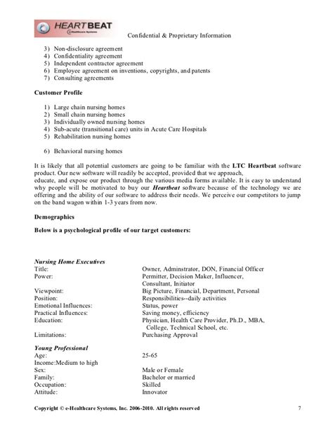 e healthcare systems marketing plan nov2010 word doc