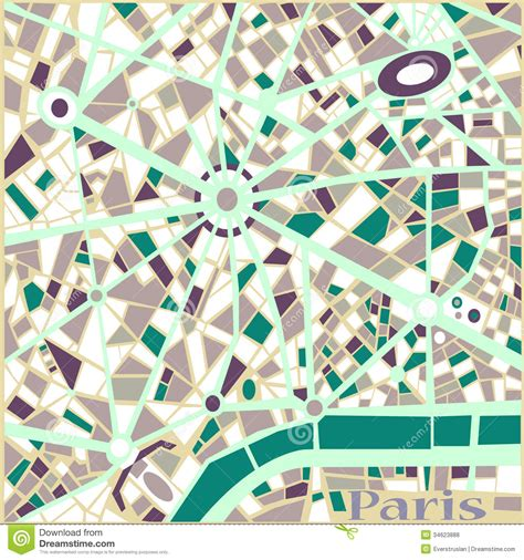 svg pattern maps vector background abstract pattern paris city map stock