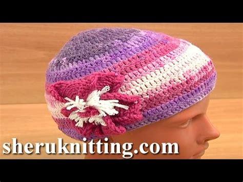 crochet easy hat for women tutorial 10 part 1 of 2 crochet hat for women tutorial 2 part 1 of 3 youtube