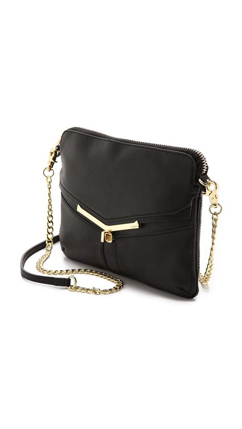 The Black Botkiers Mini Rosette Purse by Botkier Valentina Mini Convertible Bag In Black Lyst