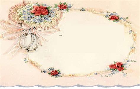 Wedding Border Vintage by Vintage Wedding Stationary All Free Wedding Invitations