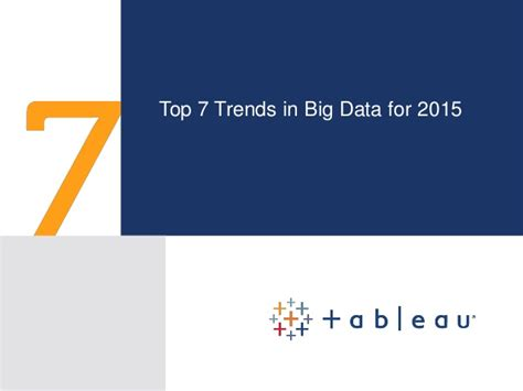 7 Big Trends For 2010 by 7 Trends For Big Data