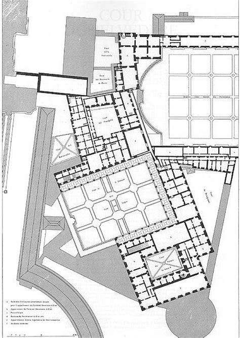 vatican museum floor plan le vatican et la basilique de saint pierre de rome de paul letarouilly palazzo apostolico