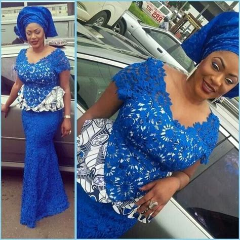 senegalese mixed styles for nigerian fashion coupure lace and ankara the nigerian wedding dress