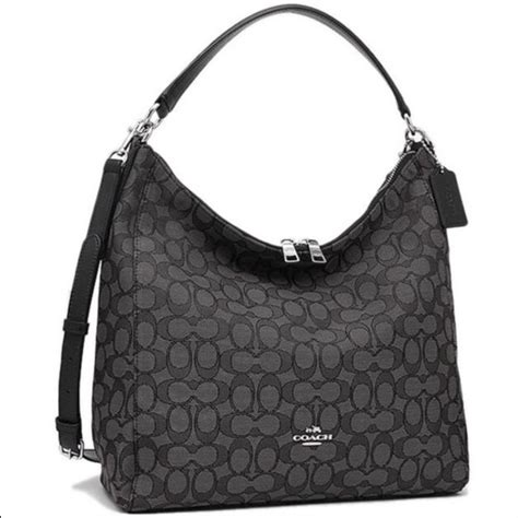 Coach Celeste 61 coach handbags coach signature celeste convertible hobo bag from mench ferrer s closet