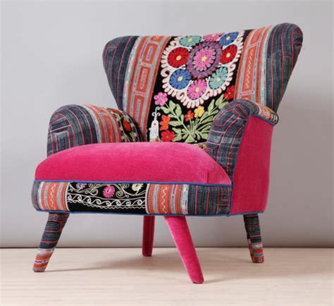 suzani armchair suzani armchair pink fever by namedesignstudio on etsy