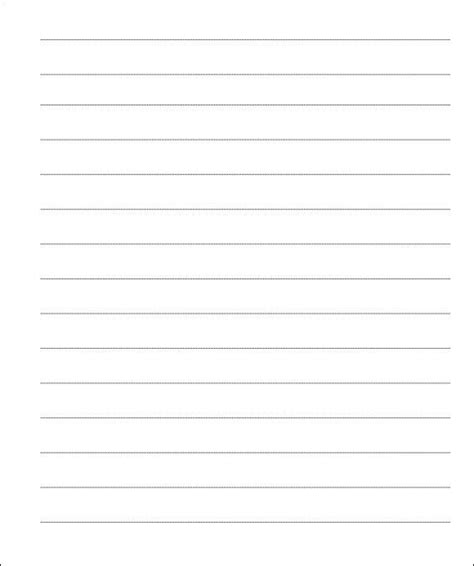 lined paper templates ms word