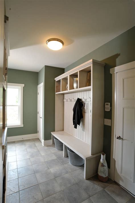 mudroom design glamorous hall tree storage bench in laundry room