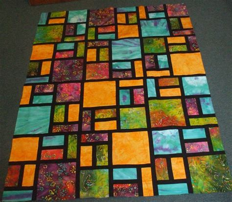 46 Best Batik Images 46 best images about stained glass quilts on