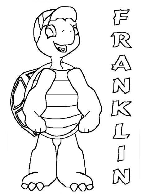 franklin coloring pages coloringpages1001 com