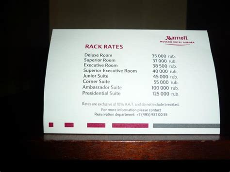 types of hotel room rates room rates picture of moscow marriott royal hotel moscow tripadvisor