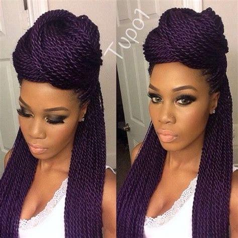 senegalese twist hairstyles  black women herinterestcom