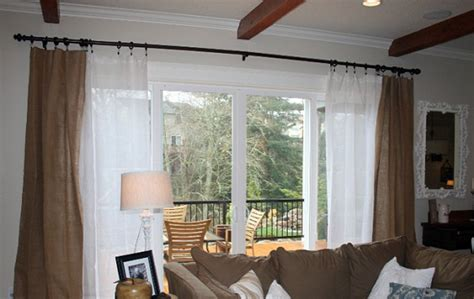 curtains for sliding glass doors ideas curtains for sliding glass doors