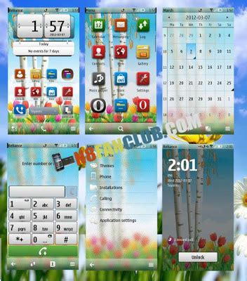 christmas themes for nokia n8 super cool themes pack 5 symbian belle nokia n8 free
