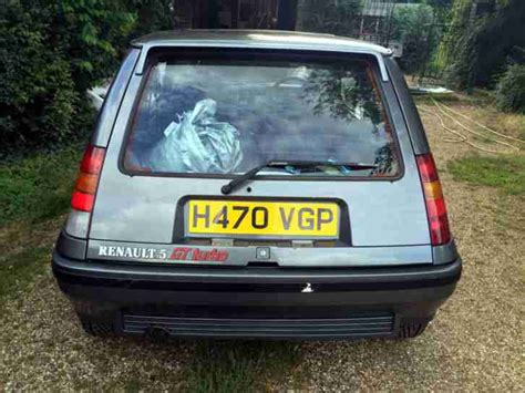 renault car 1990 renault 1990 5 gt turbo grey volvo 1 7 turbo conversion