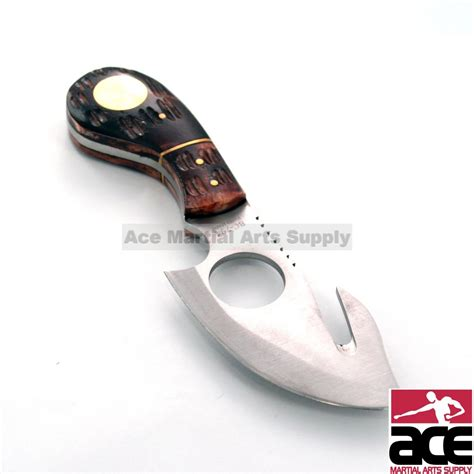 what is a gut hook knife used for 7 quot bone collector fixed blade gut hook skinning knife